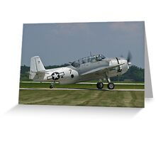 NL9584Z TBM-3 Avenger taxis Greeting Card