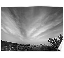 Converging clouds  Poster