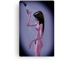 Shower Canvas Print