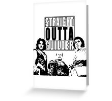 Straight Outta Guilder v2 Greeting Card