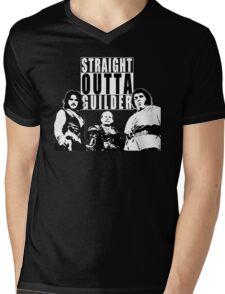 Straight Outta Guilder v2 Mens V-Neck T-Shirt
