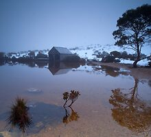 Dove Lake Boat Shed with out Cradle Mountain!!!! by tinnieopener