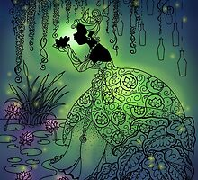 Silhouette Tiana  by Redhead-K