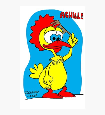 Rick the chick & Friends - Achille Photographic Print
