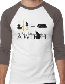 Monty Python - A Witch sketch Men's Baseball ¾ T-Shirt