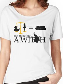 Monty Python - A Witch sketch Women's Relaxed Fit T-Shirt