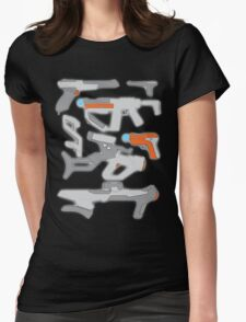 GunPlay Cluster Womens Fitted T-Shirt