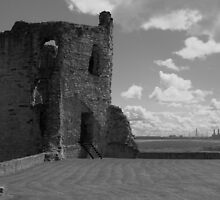Flint Castle. North East tower. by PhillipJones