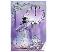 Silhouette Cinderella Poster
