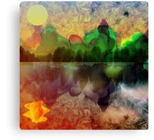 Loch and Key Canvas Print