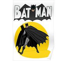 Old School Bats Poster
