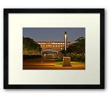 Bond University Framed Print