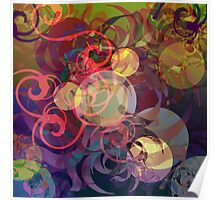 Abstract View Poster