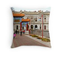 Bendigo TAFE Throw Pillow
