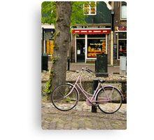 Netherlands Bike Canvas Print