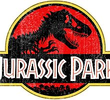Jurassic Park Logo Grunge by WilDodo