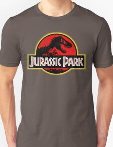 Jurassic Park Logo Grunge Unisex T-Shirt