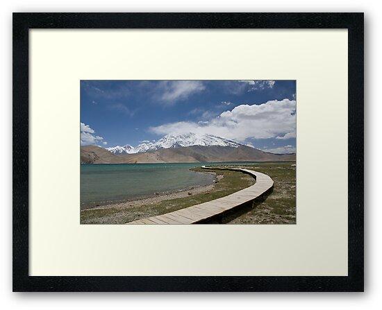 Lake Kara Kul by Gillian Anderson LAPS, AFIAP