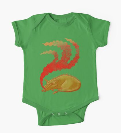 Snoring Dragon Kids Clothes