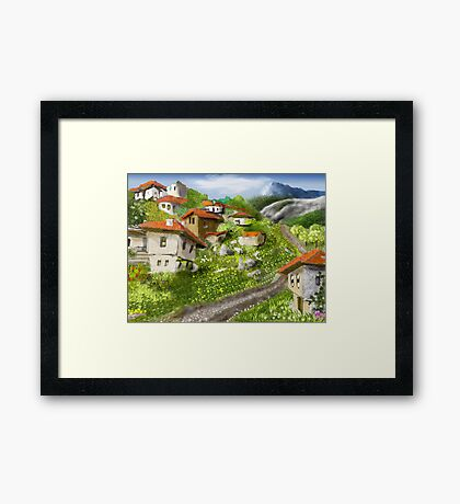 Somewhere in the Rhodopes Framed Print