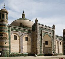 Abakh Hoja Tomb, Kashgar by Gillian Anderson LAPS, AFIAP