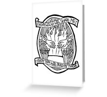 Bring me the horizon - Throne Greeting Card