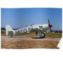 Hawker Sea Fury FB MK II Poster
