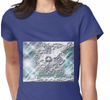 Runes of Winter Womens Fitted T-Shirt