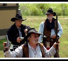 Cowboys & Trains Metamora July 11 2011 #2 by Oscar Salinas