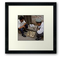 Strategy Framed Print