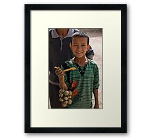 Bell Boy Framed Print