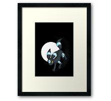 Shiny Umbreon! [V.2] Framed Print