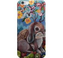 Bountiful Bunny iPhone Case/Skin