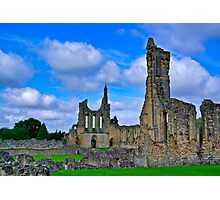 Byland Abbey Photographic Print