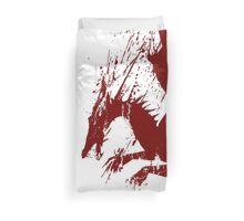 Dragon Grunge Duvet Cover