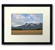 White Horse Mountain (Another look) Framed Print