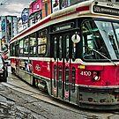 Toronto Street Car by Elisabeth Ansley