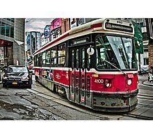 Toronto Street Car Photographic Print