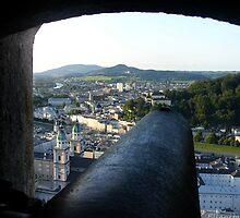 Salzburg Castle by Ellanita