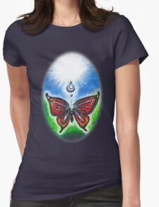 Butterfly and Key ~By Torrie Nightingale Womens Fitted T-Shirt