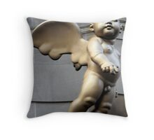 Angel at The Tron Throw Pillow