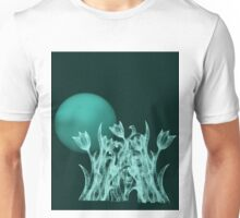 Silky moonlight flower Unisex T-Shirt