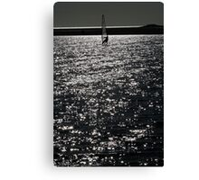 Wind Surfing - West Kirby Marine Lake  Canvas Print