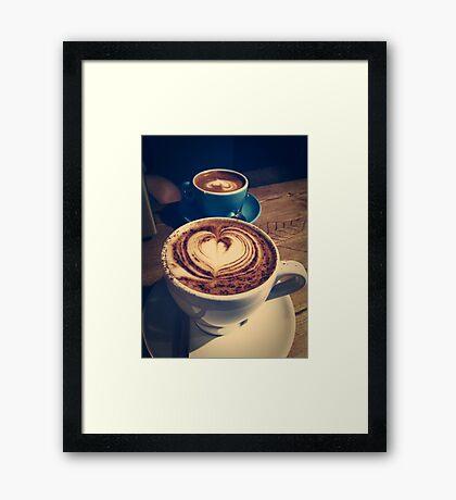 Colonna & Smalls Coffee Framed Print