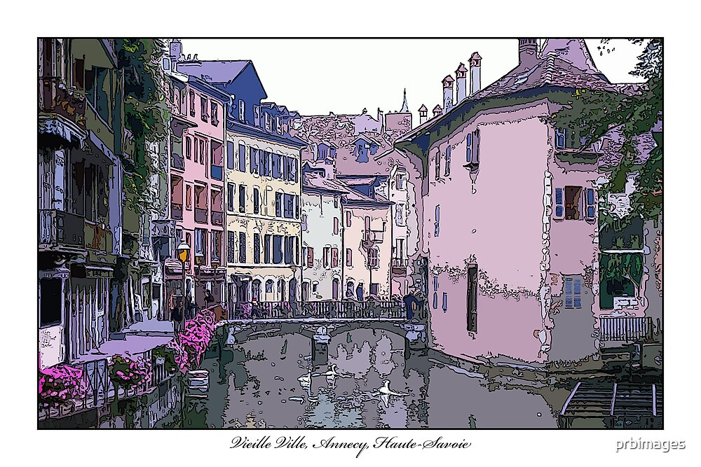 Vieille Ville, Annecy by prbimages