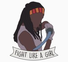 Fight like Michonne Kids Clothes