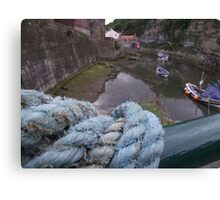Used Rope  Canvas Print