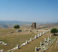 Temple of Athena, Pergamon by Maria1606