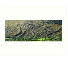 Adrigole Rocks Art Print