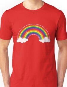 Double Rainbow: Rainbow-Dirty Logo T-Shirt